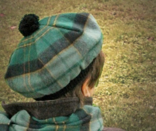Our lambswool tam in Maine Acadia Tartan