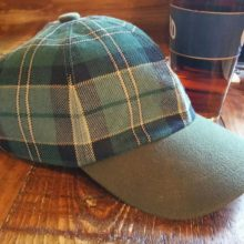 Our Maine Acadia Tartan Ball Cap